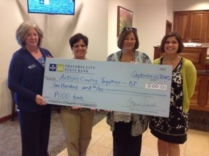 TC State Bank donation