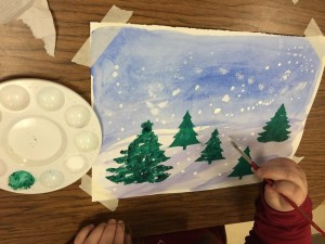 Winter Wonderland Watercolor Masterpieces