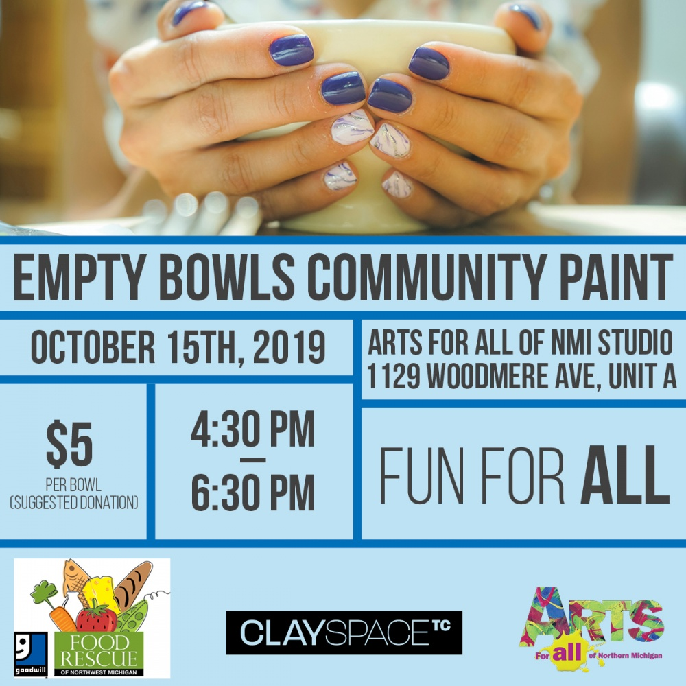 Empty Bowls Studio Class Flyer